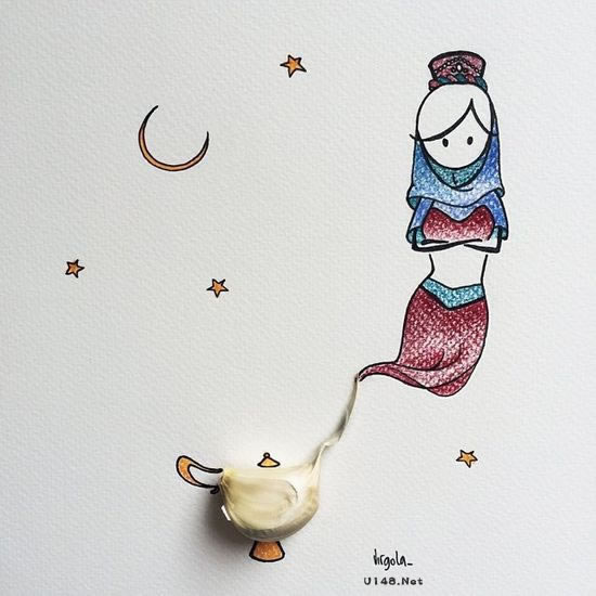 la简笔画:创意漫画-感悟人生-成长励志-e板会-云